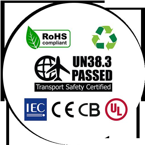Certificazioni Sicurezza Trasporto Pacchi Batterie
